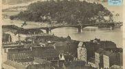 Budapest (Margit híd és a Sziget, 1930-as évek vége)